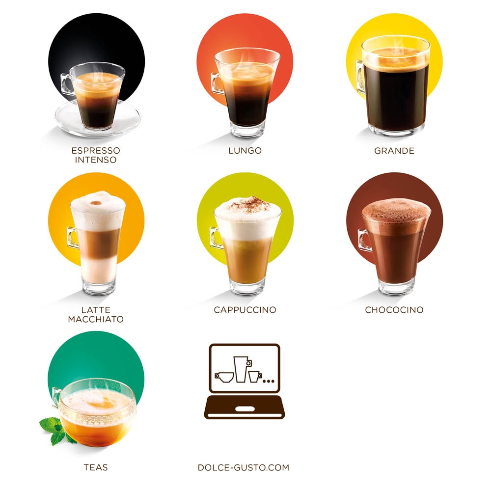 Citrus Honey Black Tea 16 Capsulas NESCAFÉ® Dolce Gusto® - Formato de venda